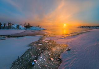 The magic moment of dawn!