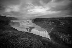 Gullfoss - Iceland (virtualwayfarer) Tags: gullfossi southernregion iceland is gullfoss foss waterfall water flow longexposure nature landscape landscapephotography viisticeland icelandic naturalbeauty dramatic incrediblenature wild wildnature natural sony sonyalpha a7rii travel goldencircle goldentriangle naturephotography naturephotographer whattosee whattodo cloudy clouds alexberger virtualwayfarer travelblog roadtrip roadtripiceland