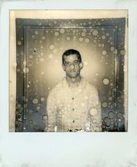 untitled (kaumpphoto) Tags: polaroid instant circles bubbles round cult decay portrait beige