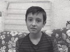 Titouan (✽ Dominique CARON ✽) Tags: ilfotechc ilford film portrait planfilm enolde 9x12 fp4 vandyke vandykeprint monochrome blackwhite largeformat grandformat tessar carlzeissjena chloruredor noiretblanc