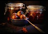 Still Life With Pickles (andycurrey2) Tags: smileonsaturday madebyme pickles onions beetroot stilllife home light shade indoor art canon digital food