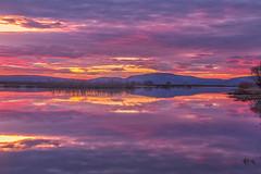 (Marc Crumpler (Ilikethenight)) Tags: usa california oregon klamathfalls klamathnationalwildliferefuge lowerklamathnationalwildliferefuge sunset clouds
