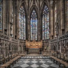 Lichfield Cathedral 16 (Darwinsgift) Tags: lichfield cathedral architecture nikkor 19mm pc e f4 nikon d850