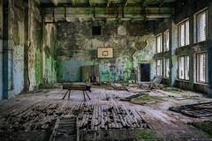 Sportstunde in Pripjat (aelert) Tags: lostplace decay rotten abandoned tschernobyl chernobyl pripyat dark forgotten vergessen verloren verfall verfallen pripjat