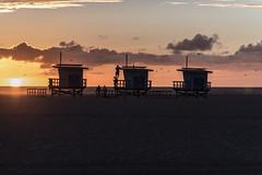 Venice Beach, California (paccode) Tags: solemn d850 landscape sunset venicebeach street people quiet posing california beach ocean candid lifeguard water colorful pacific urban losangeles unitedstates us
