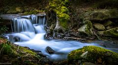 Little waterfall_Pays basque (Sand of Bidart) Tags: cascade waterfall rhune pays basque bleu vert green blue eau water sony rx100 falls nature goodvibes montagne mountain riviere