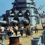 Vietnam War 1968 - Servicemen Aboard USS New Jersey thumbnail