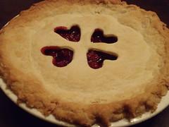 Love Cherry Pie ... (Mr. Happy Face - Peace :)) Tags: pie foodart cherry dessert art2018 food hearts lard crust sweetness love smileonsaturday heartshaped