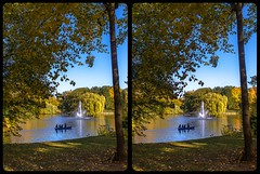 Carolasee im Großen Garten 3-D / Stereoscopy / CrossEye / HDR / Raw (Stereotron) Tags: saxony sachsen dresden elbflorenz grosergarten carolasee fountain garden municipalpark indiansummer autumn fall herbst crosseye crosseyed crossview xview cross eye pair freeview sidebyside sbs kreuzblick 3d 3dphoto 3dstereo 3rddimension spatial stereo stereo3d stereophoto stereophotography stereoscopic stereoscopy stereotron threedimensional stereoview stereophotomaker stereophotograph 3dpicture 3dglasses 3dimage twin canon eos 550d yongnuo radio transmitter remote control synchron kitlens 1855mm tonemapping hdr hdri raw