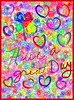 Kids Doodle (jlynfriend) Tags: phonephotos shapes note art sketch app bright heartshaped smileonsaturday text