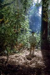 nocturnal me (Super G) Tags: nikon310 nightshot longexposure 30sec moonlight selfportrait trees forest camping winter bigbasinredwoodssp 2018