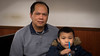 My son and I in the Big Apple (kuntheaprum) Tags: chinatownmanhattan thebigapple newyorknewyork cityscape giftshop nikon d750 samyang 85mm f14