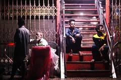 STUCK & FRAMED (N A Y E E M) Tags: people colors light availablelight atmosphere latenight rain monsoon street kazirdewri chittagong bangladesh carwindow ramadan