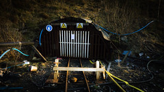 Just a flooded gem (_D4RK_) Tags: coal colliery level drift mine driftmine mining miner coaling abandoned industry