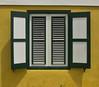 Window (michielpols) Tags: window symmetry colors yellow blinds curacao bright panasonic lumix gx80 gx85 micro four thirds mft travel holiday island caribean