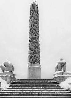 Le monotlithe de Vigeland/Vigeland's monolith/Vigelandsmonolit 2