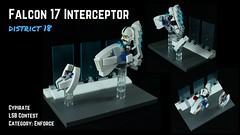Falcon 17 Interceptor Speederbike - Composite (cypiratemocs) Tags: lego speeder bike interceptor district 18 enforce