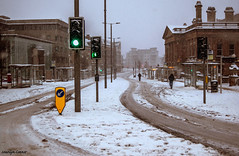 Paisley town center (MC Snapper78) Tags: scotland nikond3300 paisley renfrewshire weather beastfromtheeast marilynconnor