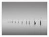 spectrum (paolo paccagnella) Tags: laguna veneto italia territorio ambiente acqua activity spectrum fantasmi ghosts ass eos5dm3 foto flickr fog landscape sea seascape blackandwhite bw bn biancoenero light 9luci minimal monochrome grigio minimalismo