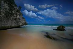 Tulum Beach (lfeng1014) Tags: tulumbeach mayariviera mexico ocean beach rock bluesky water cloud canon5dmarkiii ef1635mmf28liiusm leefilters littlestopper waves landscape lifeng