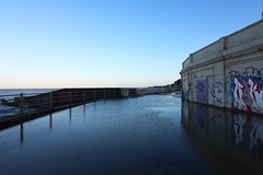 Margate (NovemberAlex) Tags: light margate thanet colour reflections kent water graffiti