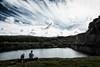 Dreaming (AxelN) Tags: paar dänemark danmark see himmel denmark menschen lake clouds pair bornholm sky colorefexpro wasser people wolken water