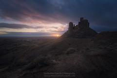 MonteAragón (Guillermo García Delgado) Tags: montearagon castillo castle medieval history aragon huesca sunset atardecer reino worldphotoxperience wpx sun clouds