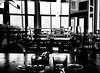 Bird Bar on Notre Dame (MassiveKontent) Tags: bar wineglass noiretblanc blackwhite montreal bw city monochrome urban blackandwhite montréal building quebec bwphotography restaurant noir