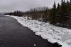 Spring Breakup? Nah! Early Winter Breakup. (Zircon_215) Tags: lloydsriver breakup ice route480 burgeoroad