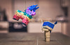 Happy birthday Danbo. (Matt_Briston) Tags: piñata robot danbo nikon d90 matt cooper