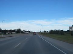Arriving in Edson, Alberta in the Jimbobmobile (jimbob_malone) Tags: 2017 highway16 edson alberta