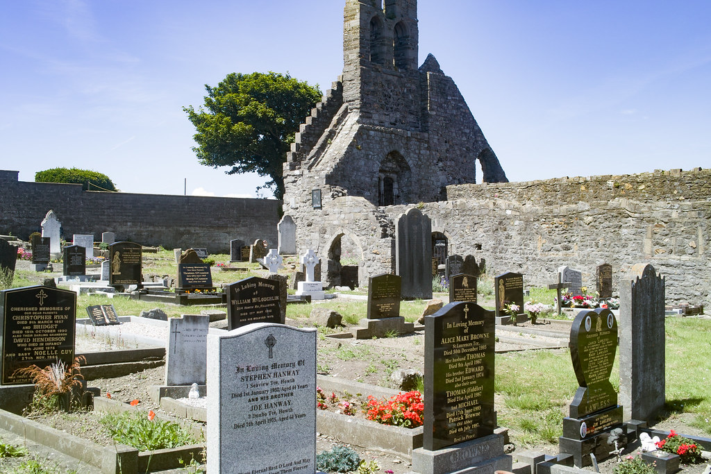 BACK IN JANUARY 2009 I VISITED THE OLD GRAVEYARD IN HOWTH [I HAD TO LEAVE BECAUSE I WAS ATTACKED BY GULLS]-135901