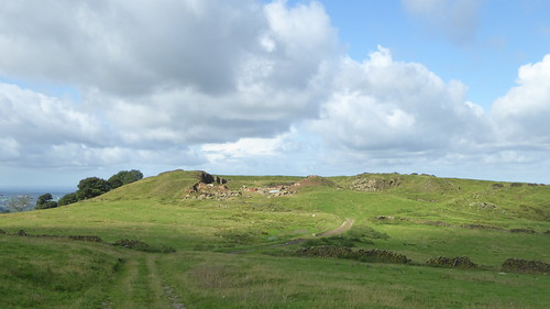 Quarried hill at Pott Shrigley