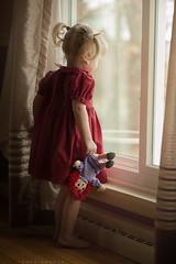 Linger (Sonya Adcock Photography) Tags: girl child kid toddler doll ragdoll raggedyanndoll sweet childhood play window windowlight painterly nikond700 nikon nikkor nikkor105mmdc sonyaadcock sonyaadcockphotography