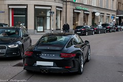 991 GT3 MkII Touring (Nico K. Photography) Tags: porsche 991 gt3 mkii touring rare new black nicokphotography supercars switzerland zürich