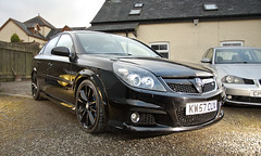 Vauxhall Vectra VXR (HCCharnock) Tags: vectra vxr turbo v6 280 300hp eibach lowered saab boost grill xenon ids
