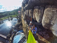 Selfie from Dragon mouth (Alexandr Tikki) Tags: art awesome amazing arcitecture best beauty wow incredible fantastic tikki travel leveltravel selfie vietnam dragon gopro hero journey stick nature abandoned life love world view light way