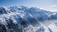 Chamonix and Mont Blanc (Andreea Sorina) Tags: chamonix montblanc