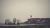 Urk (Gerrit Veldman) Tags: dutch flevoland holland ijsselmeer nederland netherlands urk lighthouse vuurtoren water landschap landscape dorp village mist olympus epl7