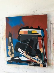 Jim Harris: Heimdallr. (Jim Harris: Artist.) Tags: art arte lartabstrait kunst kunstzeitgenössische künstler abstractart abstrakt maalaus malerei makabe málverk målning taide schoolofthemuseumoffinearts schilderij