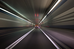 Boston (Travis Estell) Tags: boston highway motionblur tunnel massachusetts unitedstates us