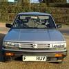0 001 (uk_senator) Tags: 1989 nissan bluebird 20 gl estate u11 wu11 silver