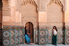 Unsuspecting outlookers (Nicolas Bussieres (Lost Geckos)) Tags: medersa ben youssef portrait body woman women morocco marrakesh
