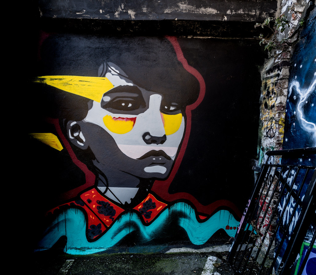 STREET ART AT THE TIVOLI CAR PARK IN DUBLIN [LAST CHANCE BEFORE THE SITE IS REDEVELOPED]-135605