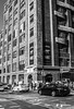 New York Street (jamesashtonpix) Tags: new york black white shade usa nyc manhatten canon holiday people building road monochrome sign taxi car