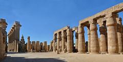 Temple de Luxor (Porschista) Tags: luxor egipte temple templo egipt panorama