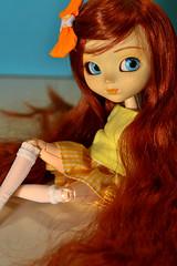 Nagisa (-gigina-) Tags: doll pullip anneshirley 2005 nikon d3100 obitsu rewigged redhair