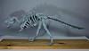 Origami T. Rex Skeleton - 2 (Tankoda) Tags: origami paper art dinosaur dinosaurs tyrannosaurus t rex trex tyrannosaur mesozoic fossil skeleton wood mount osteology paleontology issei yoshino travis nolan design hours