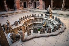 Ritual bathing pool @ Hanuman Dhoka Royal Palace (wilsonchong888) Tags: leicam21mmf34superelmarmasph m10 leica streetphotography nepal ritualbathingpool sundarichowk hanumandhokaroyalpalace patandurbarsquare colour kathmandu ngc