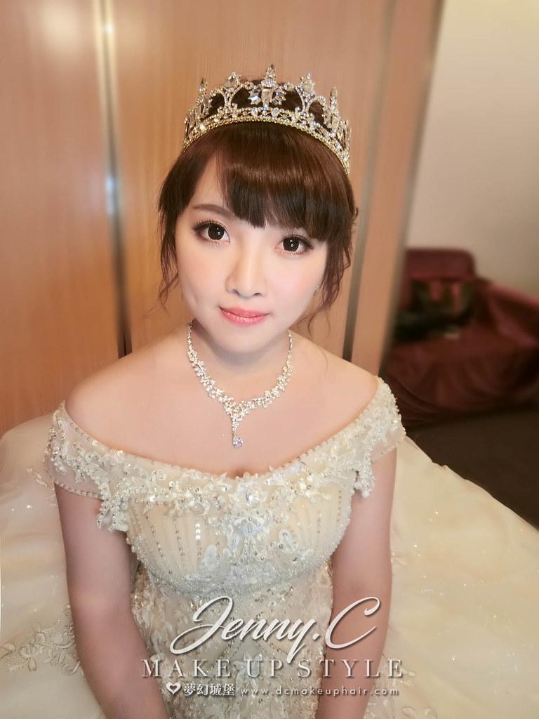 【新秘蓁妮】bride羽雯 訂結婚造型 / 桃園龍和大飯店